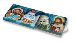 Čtenáři  #readers #christmas #snowman #ilustration #ilustrace #ChewingGums #žvýkačky #CharityGums