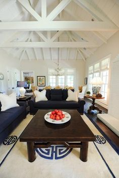 Bright and airy, the Hampton's home transports you to tranquility.