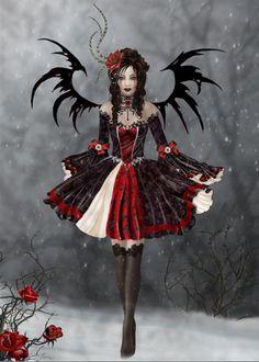 Ange noir / Dark angel ...