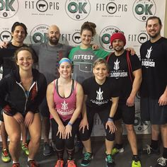 What a great group to get to spend your Sunday with @fittestinok hard work and lots of laughs. #veryproud #instagramfitness #crossfit #showponies #rushletes #okc #fittestinok #crossfitlandrush #cflr #openyoureyesjustin #2legit2quit by danimal_okc
