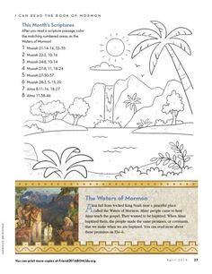 15 Best Book Of Mormon For Kids Images In 2020 Book Of Mormon