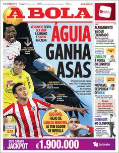 Prensa deportiva del 12 de mayo 2012
