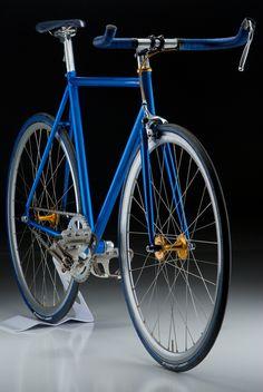 Beautiful blue bike...