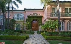 Christina Aguilera's house 513 Doheny Bev Hills