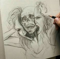 [New] The 10 Best Drawing Ideas Today (with Pictures) - Arte Horror, Horror Art, Pencil Drawings, Art Drawings, Bio Art, Drawing Reference, Art World, Dark Art, Online Art