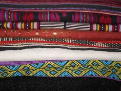 tais - traditional handwoven fabric from timor leste