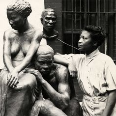 Augusta Savage was an African-American sculptor associated with the Harlem Renaissance. She was also a teacher whose studio was important to the careers of a generation of artists who would become nationally known. African American Artist, African American History, American Artists, Black History, Art History, Edmonia Lewis, Augusta Savage, Norman Lewis, Civil Rights Activists