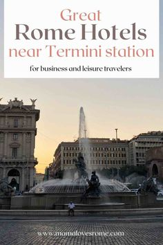 Handpicked selection of the best Rome hotels near Termini, the best place to stay in Rome for access to the train station and the airport Rome Hotels, Best Hotels, Travel And Leisure, Travel Tips, Keys Hotel, Santa Maria Maggiore, Rooftop Pool, Rome Travel, Travel