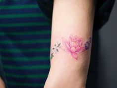 Lotus Flower Tattoo by Sol Tattoo