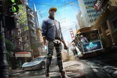 Wallpaper HD Watch Dogs 2 - Marcus Holloway #WatchDogs2 #MarcusHolloway #PC #PS4 #XboxOne #Ubisoft #shooter #Hacker #Dedsec