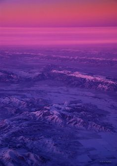 North of Sunset (do you love purple?)
