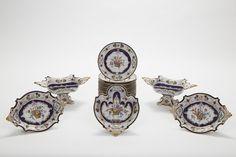 Copeland/Spode Porcelain Part Dessert Set #antiques #decorativearts   www.linkauctiongalleries.com Art Decor, Bracelet Watch, Auction, Dessert, Detail, Gallery, Bracelets, Accessories, Bangles