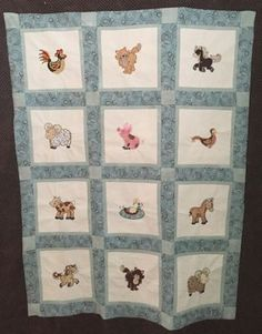 Terri Farmyard Applique Quilt Oct 16