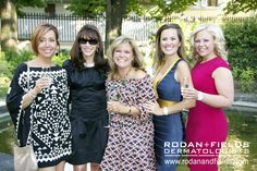 Rodan + Fields RFX Circle Achievers enjoying a glass of Prosecco with Dr. Katie Rodan in Tuscany, Italy