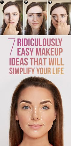 Gorgeous makeup for less effort.