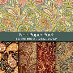 Free Scrapbooking Paper Papel Imprimible Para Imprimir Sobres De Decorativo