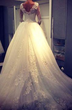 Stunning lace wedding dresses