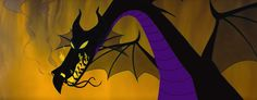 "Dragon Maleficent, ""Sleeping Beauty"" 1959"