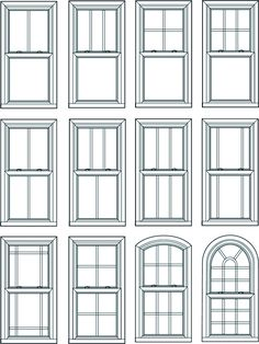 Double Hung Window    Double Hung windows operate by sliding either of the sashes up an down within the window frame. This is one of the most common window styles.