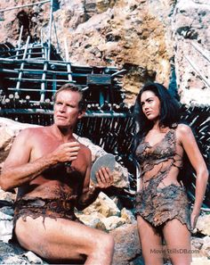 This image is from Planet of the Apes and features Charlton Heston as George Taylor and Linda Harrison as Nova Linda Harrison, Science Fiction, Movie Character Costumes, Revolution, Image Film, Cinema, We Movie, Planet Of The Apes, Thing 1