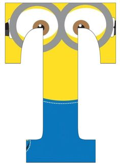 Typography - Minion Alphabet - Letter T