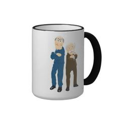 Sattler And Waldorf Arms Crossed Coffee Mugs