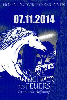 Poster Einhörner 2014