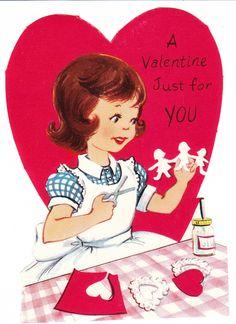 vintage baby valentines - Google Search