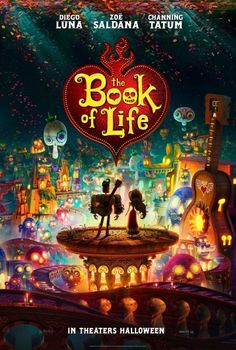 Glimpse into the magical worlds of the Book Of Life with the debut of the official poster on Collider.com!