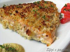 Sfizi e pasticci: Filetto di salmone in crosta aromatica