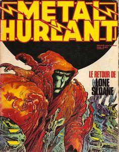 Metal-Hurlant greatest sci-fi magazine EVAH... Quote me