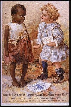 """My favorite thing about this is the """"bitch please"""" look on the other kid. Maybe one day I'll start a board specifically devoted to exploring how advertising reinscribes racism and sexism into our culture, even now. It would be a big board."""
