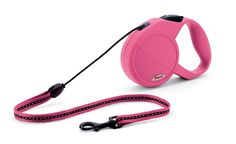 Flexi Classic Lead 16-Feet Medium Cord for Dogs, Pink >>> For more information, visit image link.