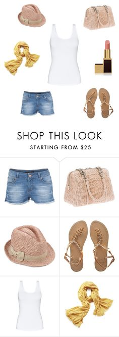 """""""Summer time!"""" by marcela-cadiz ❤ liked on Polyvore featuring SuperTrash, Miu Miu, Emanuela Caruso, Talula, Closed and Tom Ford"""
