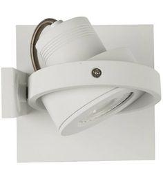 Zuiver Wandleuchte LUCI-1 LED Aluminium weiß 11,5x11,5x12,8cm - Wonen met LEF!