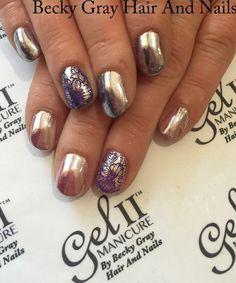 #gelii #chromenails #manicure #chrome #nails #showscratch #tcbg