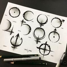 Hai Tattoos, Body Art Tattoos, Tattoo Sketches, Tattoo Drawings, Tattoo Art, Future Tattoos, Tattoos For Guys, Widder Tattoos, Cool Symbols