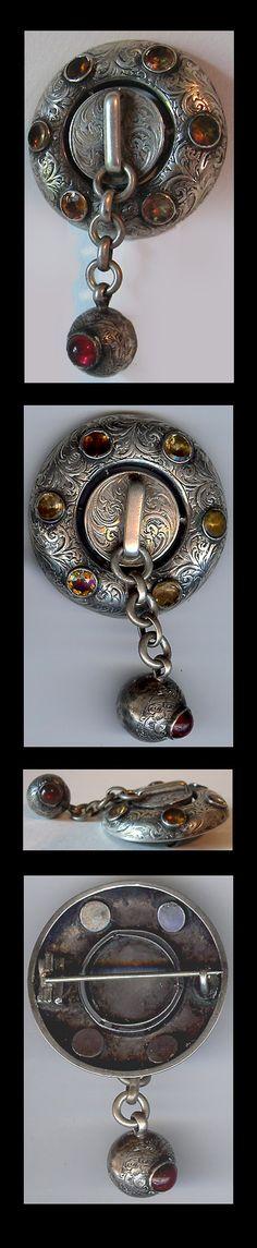 Antique Victorian Scottish pin.