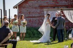 Barn Wedding Backdrop