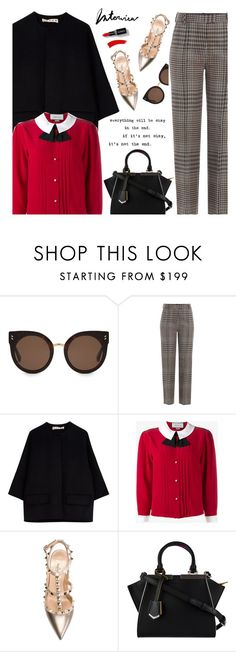 """""""JOB ENTERVIEW"""" by ino-6283 ❤ liked on Polyvore featuring STELLA McCARTNEY, 3.1 Phillip Lim, Marni, Gucci, Valentino and Fendi"""