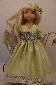 "Effner 13"" Little Darling *HEIRLOOM SILK* Ensemble by Ladybugs Doll Designs~ OOK"