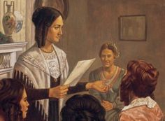 """RS lesson on Daughters in My Kingdom: """"Something Better"""": The Female Relief Society of Nauvoo (Chapter 2)"""