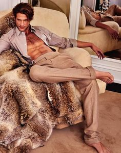 Domenique Melchior by Philippe Vogelenzang for GQ Australia