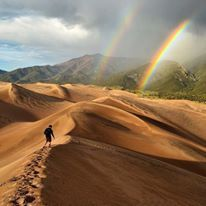 Hiking Through Great Sand Dunes National Park, Colorado Photography By: Eric Magayne Beautiful Nature Pictures, Beautiful Places, Amazing Photos, Nature Photos, Amazing Places, Amazing Nature, Blue Ridge Parkway, Road Trip Usa, Vacation Destinations