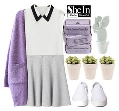 """""""SheIn"""" by rarranere ❤ liked on Polyvore featuring Monki and Vans"""