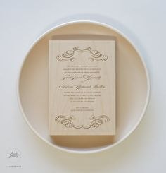 Ornate  Personalized Wedding Stamp  Large by LushPrints on Etsy, $150.00
