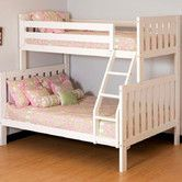 Found it at Wayfair - Alpine II Twin over Full Bunk Bed