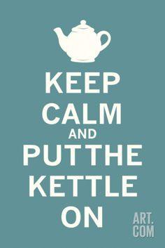 Keep Calm Tea Print