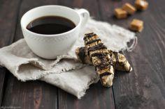 salted caramel chocolate biscotti - Jelly Toast