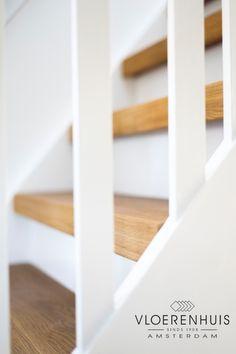 Maak je jaren 30 huis compleet en bekleed jouw trap met hout! Houten trapbekleding, traprenovatie, het is bij ons mogelijk.